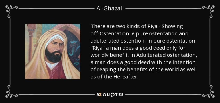 quote-there-are-two-kinds-of-riya-showing-off-ostentation-ie-pure-ostentation-and-adulterated-al-ghazali-59-37-10